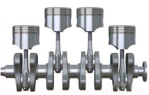 Diagram Kerja Motor Bakar 4 Tak dan Posisi Piston Pada Tiap Derajat Poros Engkol