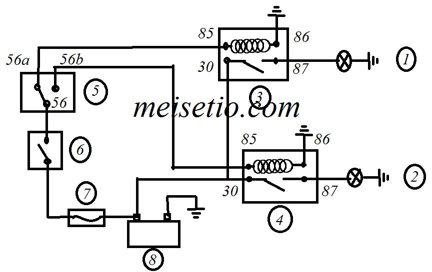 cara membaca kode kelistrikan lampu kepala  u2013 meisetio com