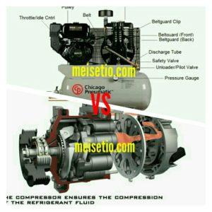 Perbedaan Compressor Udara VS Compressor AC Mobil