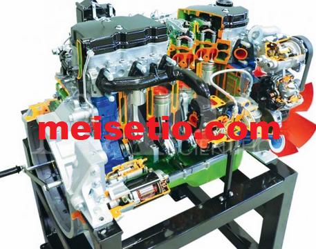 Aliran Sistem Bahan Bakar Common Rail Pada Mesin Diesel