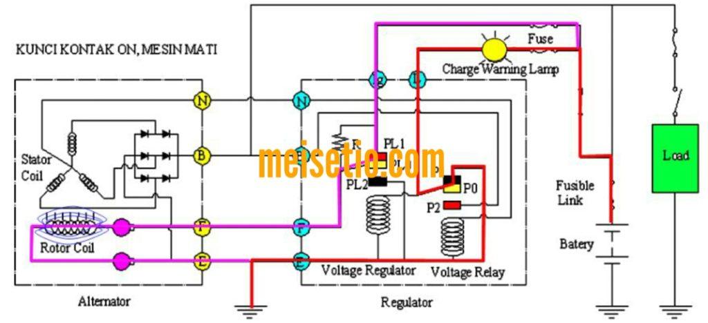 Cara Membaca Kode Kelistrikan  Wiring Diagram  Sistem