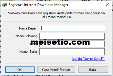 cara download idm tanpa registrasi serial number